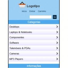 e-commerce mobile para o ptCommerce Starter v7.0x