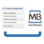 Pagamento por referência multibanco - ecommerce v7.0x