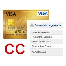 Redunicre pagamento por cartão de crédito - ecommerce v7.0x