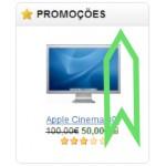 Artigos em promoção a rolar - ecommerce v8.0x