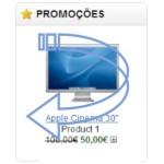 Artigos em promoção com efeito de transição - ecommerce v8.0x