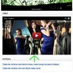 Apresentação de videos do Youtube - ecommerce v8.0x