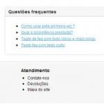 Questões frequentes na loja online - ecommerce v8.0x