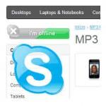 Skype na loja online - ecommerce v8.0x