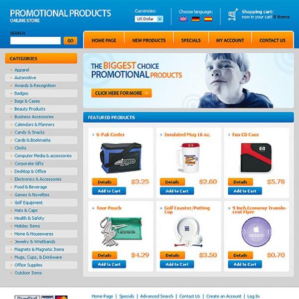 Template osCommerce TPL-1TL4P246 osc