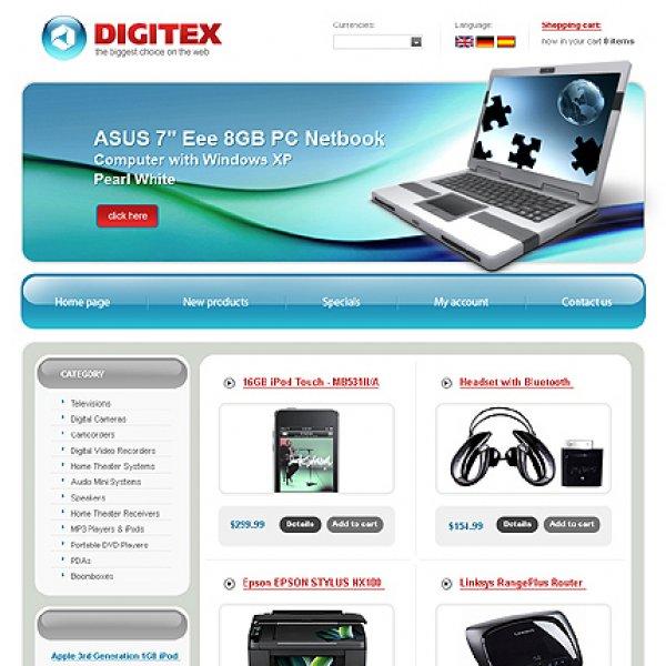 Template osCommerce TPL-2TL2P306 osc