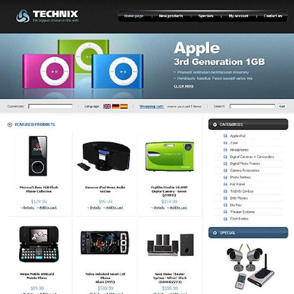 Template osCommerce TPL-2TL2P418 osc