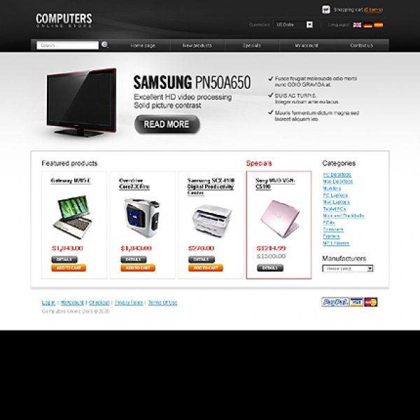 Template osCommerce TPL-2TL2P665 osc