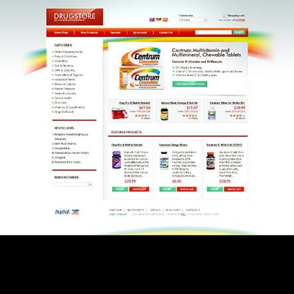 Template osCommerce TPL-2TL3P640 osc