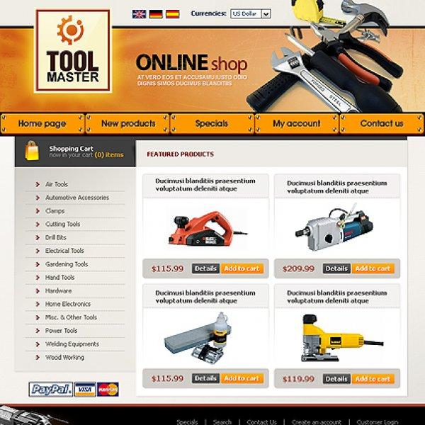 Template osCommerce TPL-2TL4P036 osc