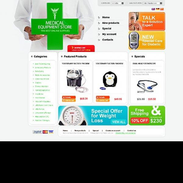 Template osCommerce TPL-2TL6P316 osc