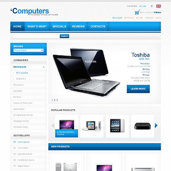 Template osCommerce TPL-3TL3P439 osc