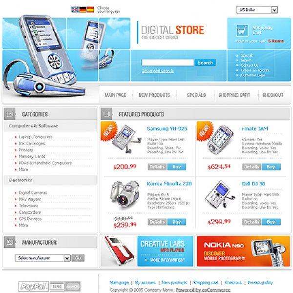 Template osCommerce TPL-9TL0P06 osc